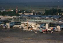 Строительство новой трансферной зоны в терминале D аэропорта Борисполь по состоянию на 21 июля 2018 года