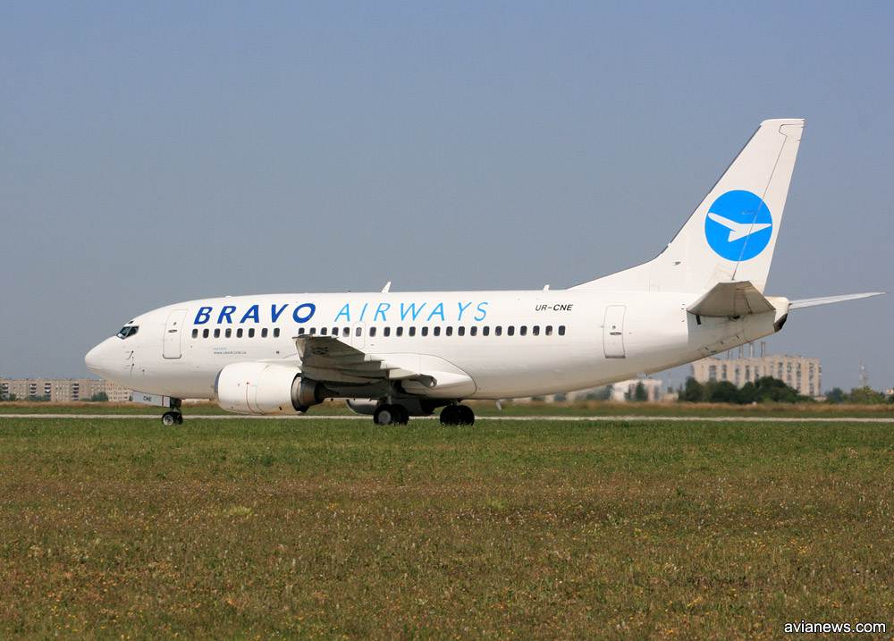Boeing 737-500 Bravo Airways