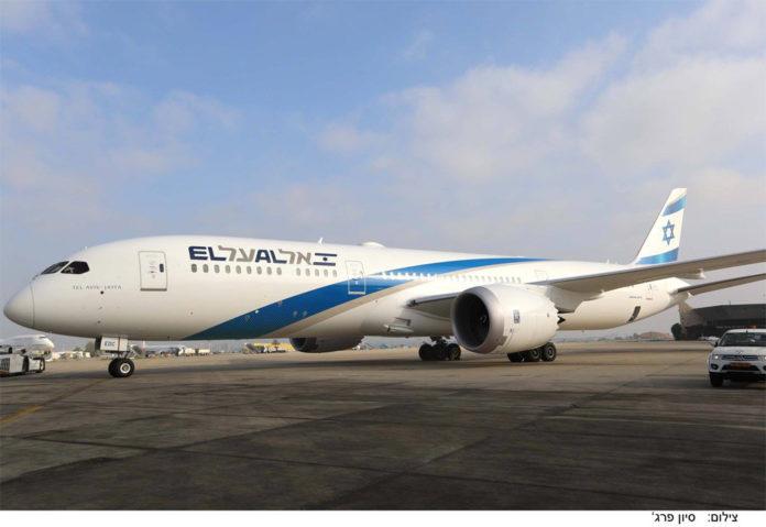 Boeing 787 El Al в современной ливрее. Фото: El Al
