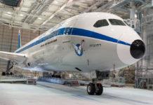 Boeing 787 El Al в ретро-ливрее. Фото: El Al