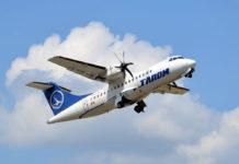 Самолет ATR 42 авиакомпании TAROM