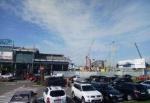 Строительство новой секции терминала А в аэропорту Жуляны, 28 июля 2018 года