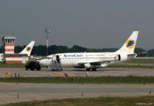 """Boeing 737-200 авиакомпании """"АэроСвит"""""""