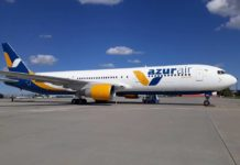 Boeing 767-300ER в ливрее Azur Air Ukraine