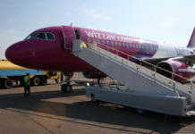 Airbus A320 Wizz Air в аэропорту Львов