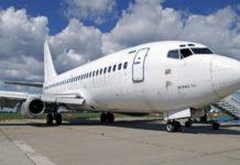 "Boeing 737-200 ""АэроСвита"", который купил аэропорт Борисполь"