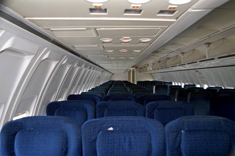 "Салон Boeing 737-200 ""АэроСвита"", который купил аэропорт Борисполь"