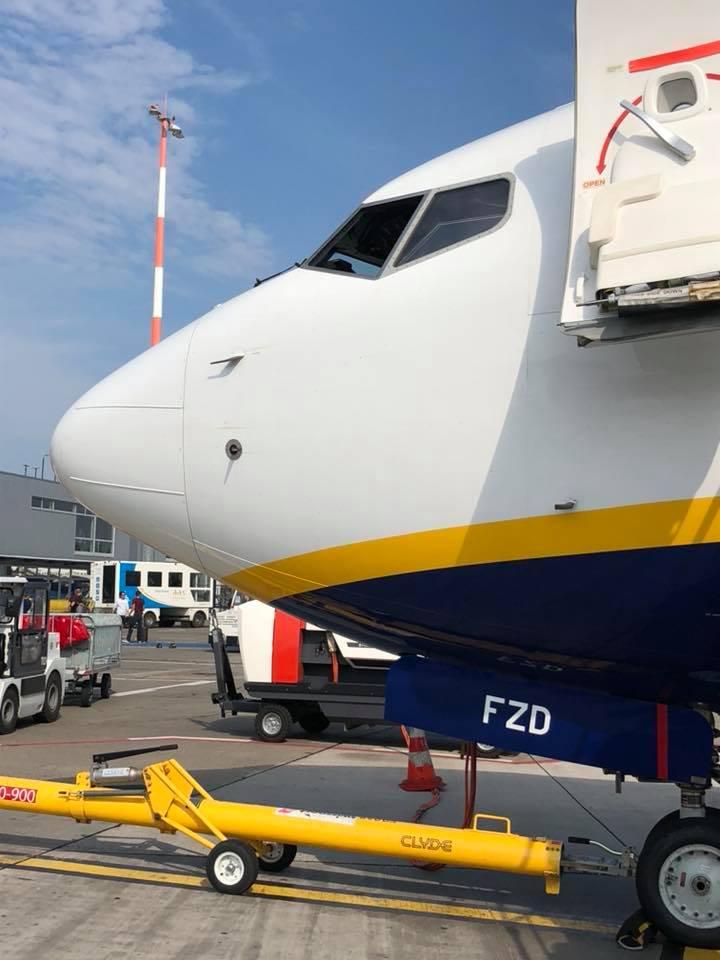 Boeing 737-800 Ryanair EI-FZD, выпущенный в 2017 году