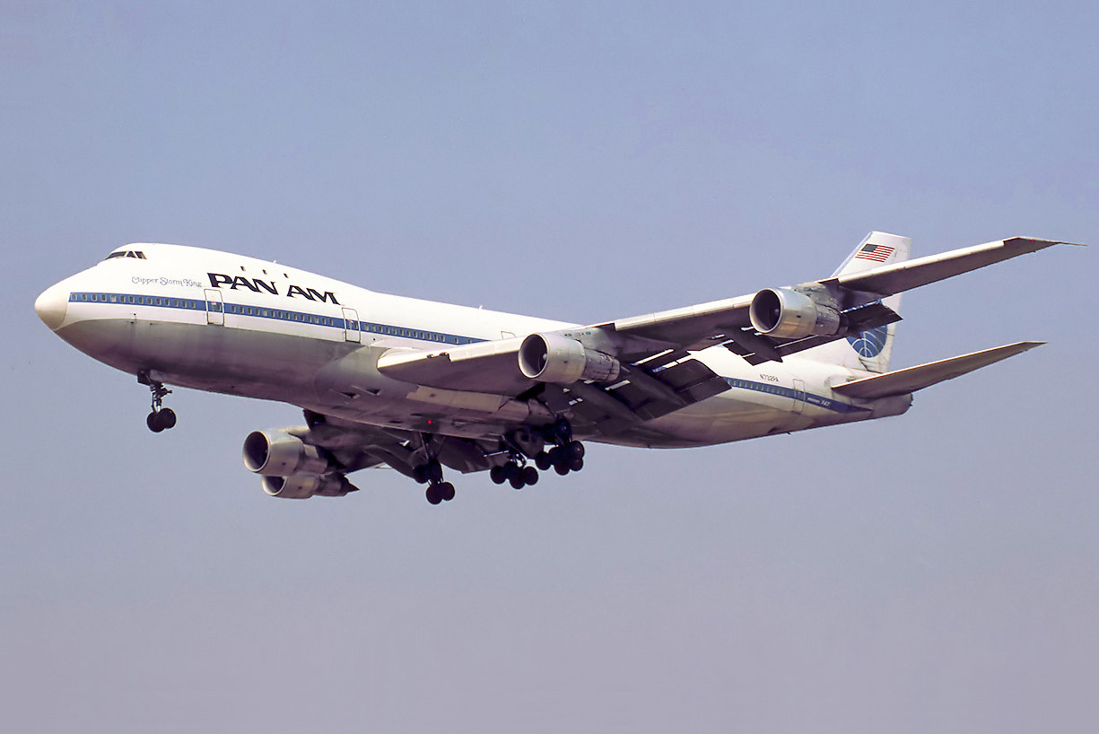 Boeing 747-100 авиакомпании Pan Am