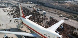Первый Boeing 747 на церемонии выкатки в Эверетте 30 сентября 1968 года