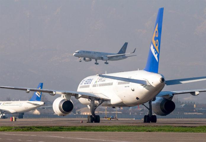 Самолеты авиакомпании Air Astana