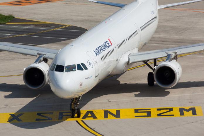 Airbus A321 авиакомпании Air France