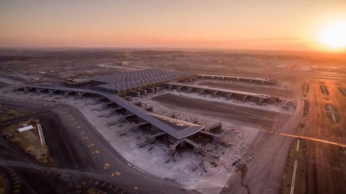 Новый аэропорт Стамбула, сентябрь 2018 года