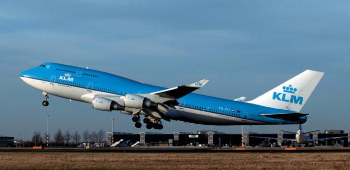 Boeing 747 авиакомпании KLM