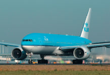 Boeing 777 авиакомпании KLM. Фото: KLM