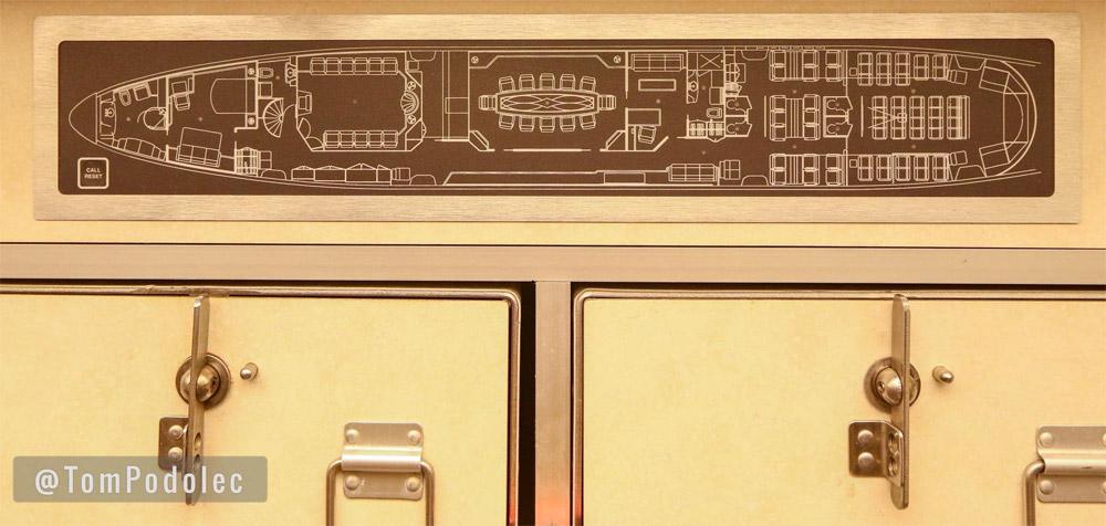 План салона самолета Boeing 747 SP в VIP-компоновке