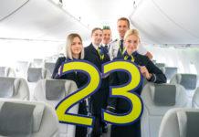 airBaltic отметила свое 23-летие специальной скидкой на авиабилеты