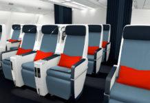 Новый салом премиум-эконома Air France