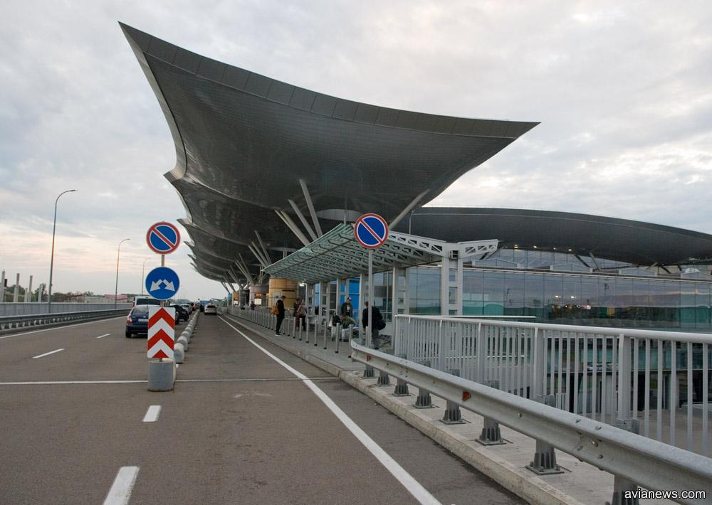 Терминал D в аэропорту Борисполь