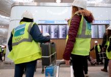Испытания в новом аэропорту Стамбула