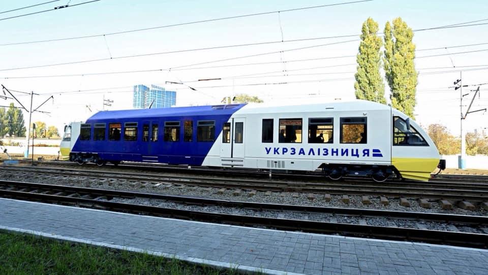 Укрзализныця показала подвижной состав, который поедет в аэропорт Борисполь|В дороге - сайт о путешествиях и приключениях