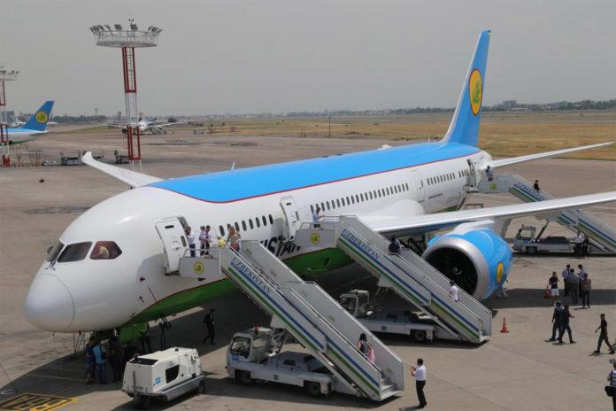 Boeing 787 Uzbekistan Airways