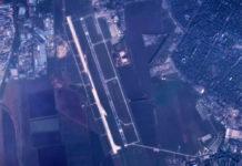 Строительство новой полосы в аэропорту Одесса, вид с воздуха, ноябрь 2018 года. Фото: Думская