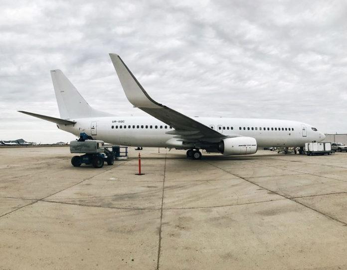 Boeing 737-800 UR-SQC SkyUp