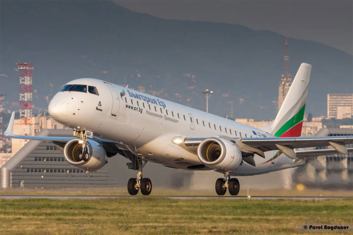 Embraer 190 Bulgaria Air