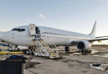 Boeing 737-800 SkyUp с регистрацией UR-SQF. Фото: SkyUp