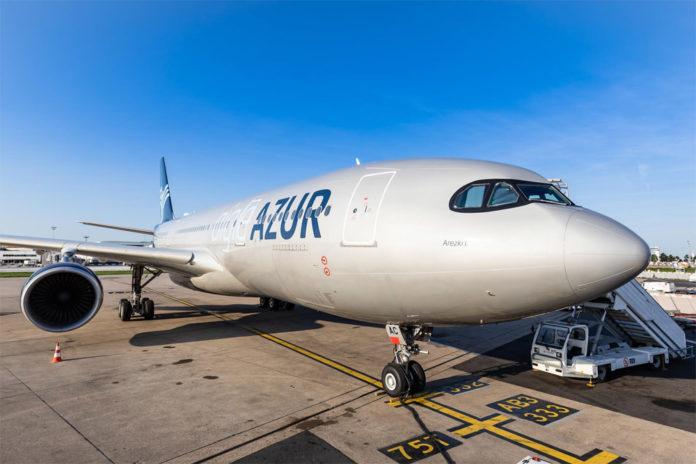 Airbus A330 авиакомпании Airgle Azur