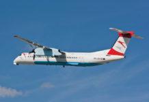 Bombardier Q400 авиакомпании Austrian Airlines