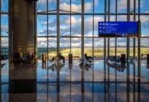 Зал ожидания в новом аэропорту Стамбула