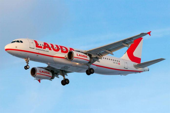 Airbus A320 лоу-коста Laudamotion