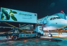Обслуживание самолета перед вылетом