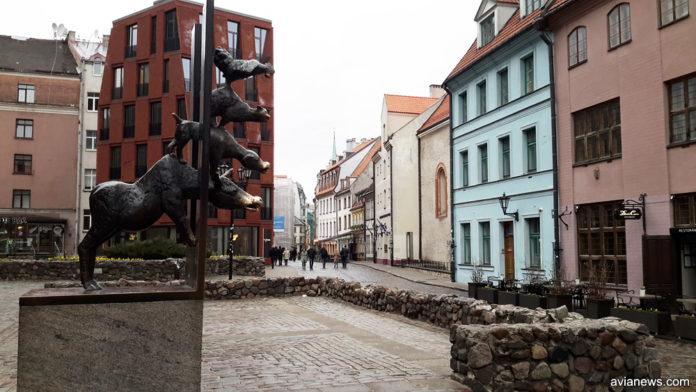 Памятник Бременским музыкантам, Рига