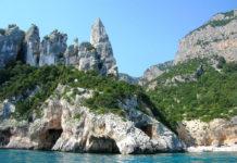 Пляж Кала-Голоритце на острове Сардиния