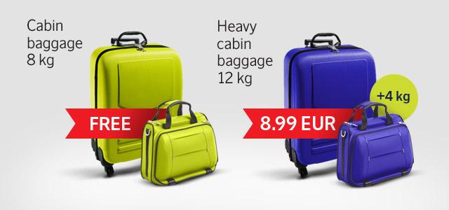 Новые нормы провоза ручной клади на рейсах airBaltic