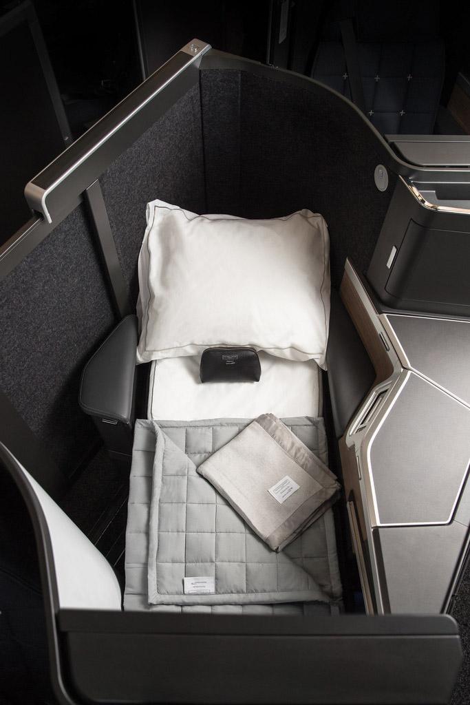 Новый бизнес-класс British Airways с креслами Club Suite