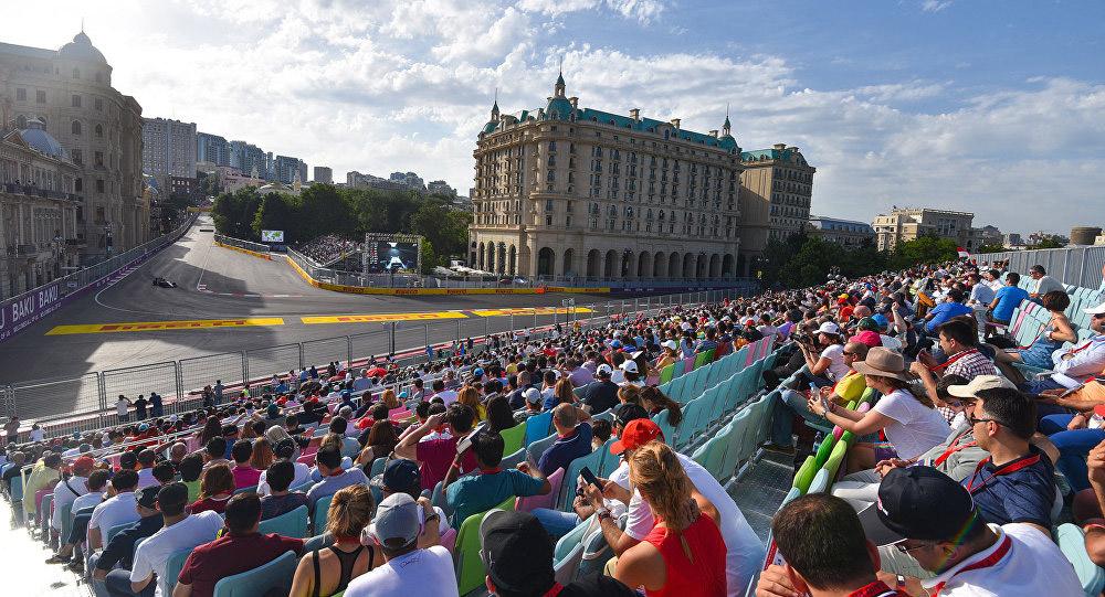 Гонка F1 в Баку