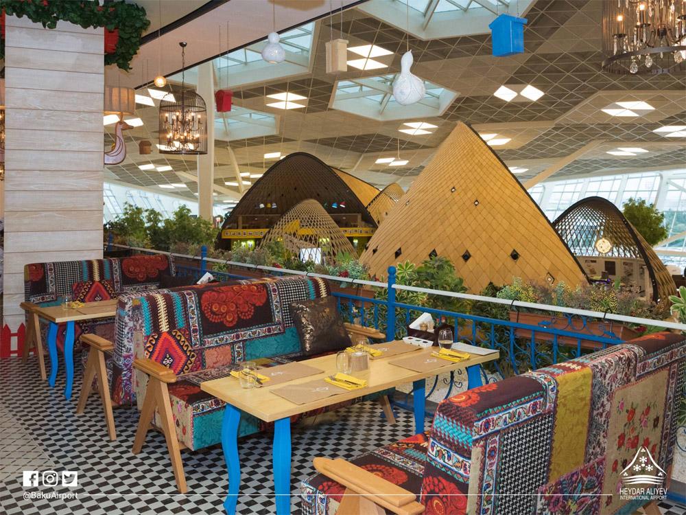Кафе в аэропорту Баку