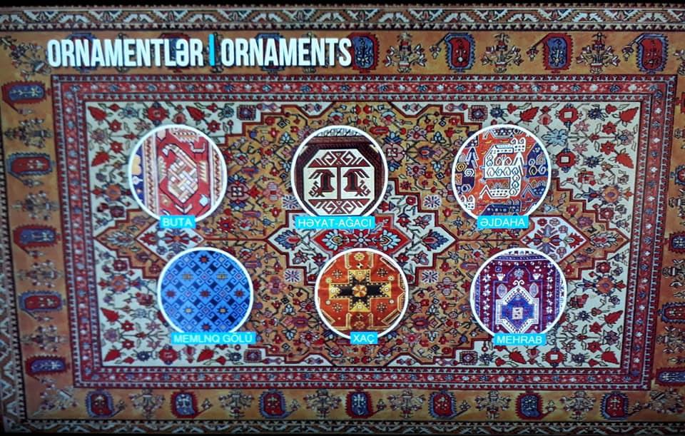 Виды орнаментов при создании ковров