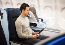 Бизнес-класс на дальнемагистральных рейсах KLM - World business class