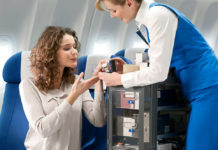 Продажа товаров Duty Free на борту самолетов KLM