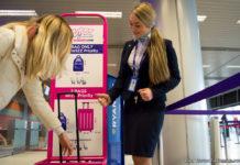 Проверка ручной клади пассажиров перед вылетом