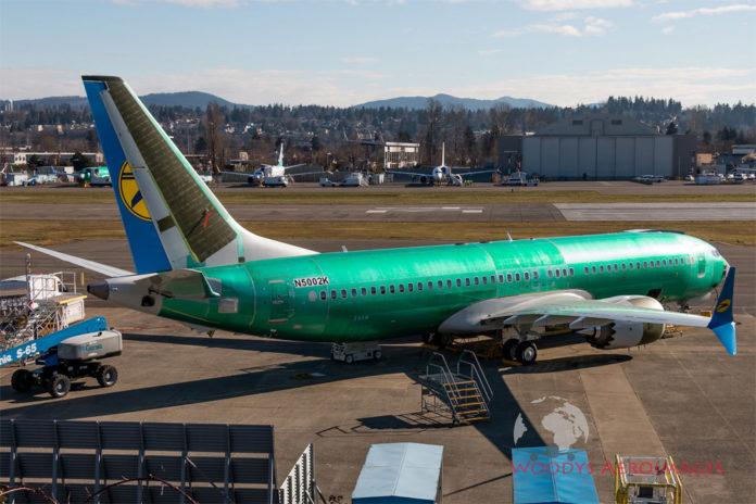 Первый Boeing 737 MAX 8 для МАУ, поставка которого планировалась на конец марта 2019 года