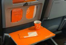 Чай на борту самолета SkyUp