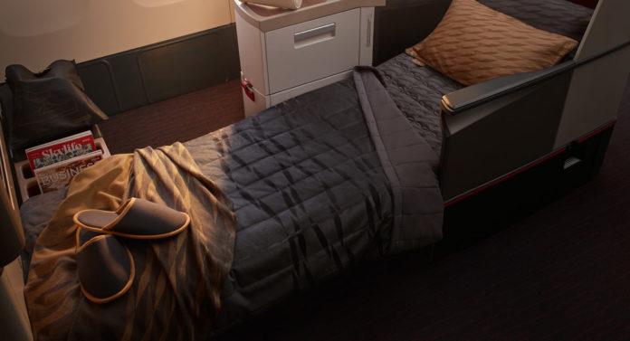 Новый набор для сна в бизнес-классе Turkish Airlines на дальнемагистральных рейсах