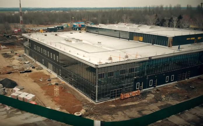Строительство нового терминала в аэропорту Запорожье