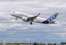 Первый полет Airbus A319neo с двигателями Pratt & Whitney GTF